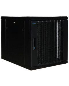 """12U, 19"""" serverkast, geperforeerde deuren, voor onder de bureaus(BxDxH)600x800x634mm"""
