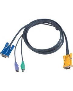 Kabels voor KVM switches ACS-216/ACS-1216L , tussen pc en switch