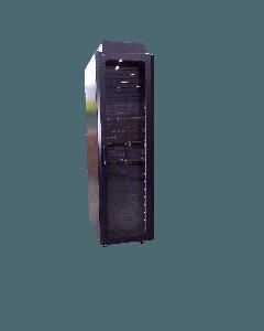 42U, 19'' Serverkast met stalen geperforeerde deuren (BxDxH) 600x1000x2000mm Zwart