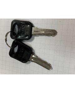 Standaard sleutels voor de voordeur van 19 inch server en wandkasten