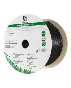 Cat6a U/FTP 100% koper installatiekabel OUTDOOR 305m